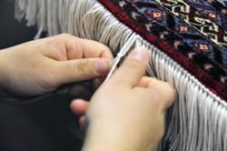 Rug Repair Reweaving Carpet Restoration Hadeed Oriental Rug Hand Hooked Woven New Fringe