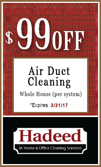 Ait Duct  Cleaning special