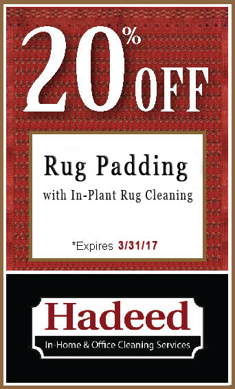Rug Padding special