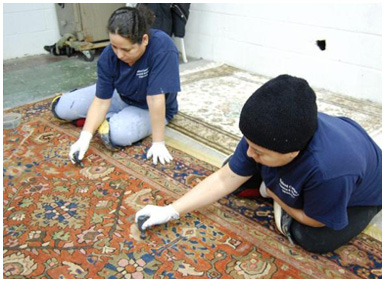 How To Clean A Rug Soapy Water